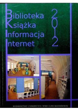 Biblioteka książka informacja Internet