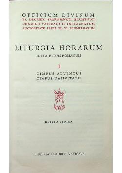 Liturgia Horarum tom 1 Tempus Adventus Tempus Nativitatis