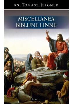 Miscellanea biblijne i inne