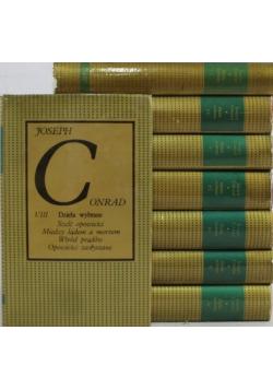 Conrad dzieła wybrane 8 tomów
