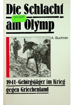 Die Schlacht am Olymp
