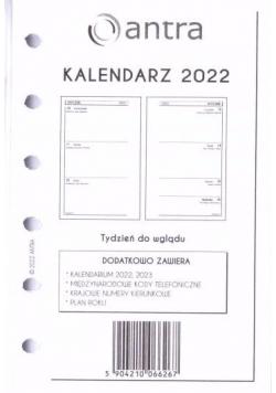 Kalendarz 2022 wkład A6 KIESZ/TDW