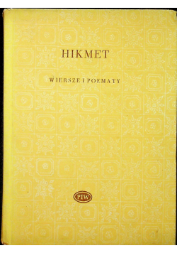 Hikmet Wiersze i poematy