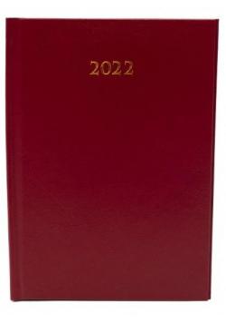 Terminarz 2022 tygodniowy A4 Divas Bordo