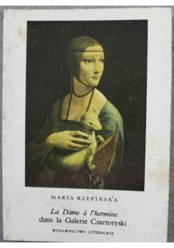 La Dame a l hermine dans la Galerie Czartoryski