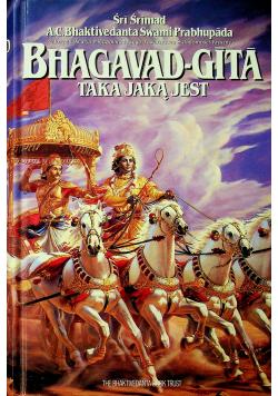 Bhagavad - Gita taka jaką jest + Autograf Śrimad