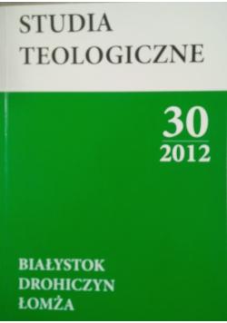 Studia teologiczne 30