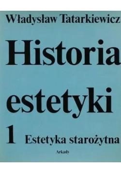 Historia estetyki 1 Estetyka starożytna