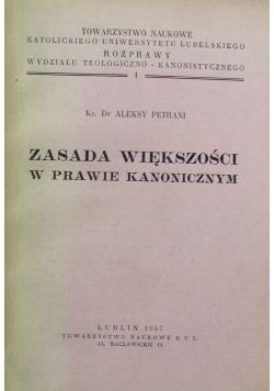 Zasada większości w prawie kanonicznym 1 1947 r