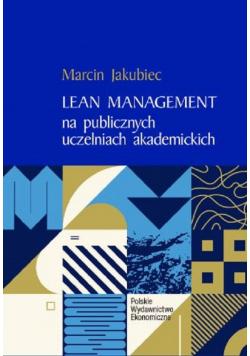 Lean Management na publicznych uczelniach akademickich