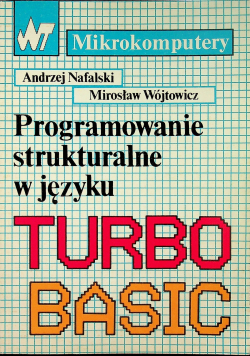 Programowanie strukturalne w języku turbo basic