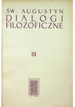 Dialogi filozoficzne III