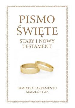Pismo Święte ST i NT duże