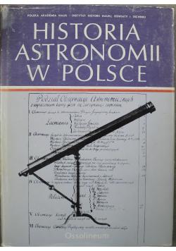 Historia astronomii w Polsce Tom II