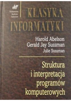 Struktura i interpretacja programów komputerowych