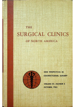 The surgical clinics of North America nr 5