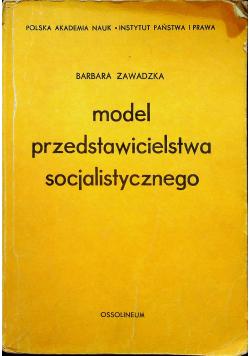 Model przedstawicielstwa socjalistycznego