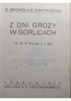 Z dni grozy w Gorlicach 1919 r