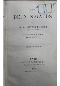 Les Deux Nigauds 1888 r.