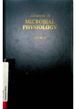 Avances in microbial Physiology  vol 18