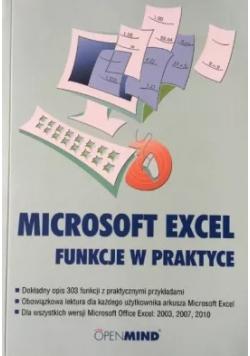 Microsoft Excel funkcje w praktyce