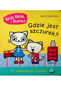 Kicia Kocia i Nunuś Gdzie jest Szczurek