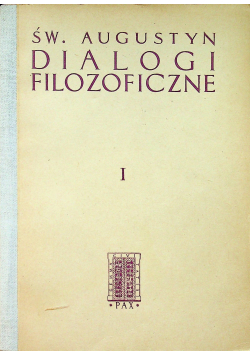 Dialogi filozoficzne I