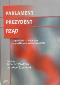 Parlament Prezydent Rząd