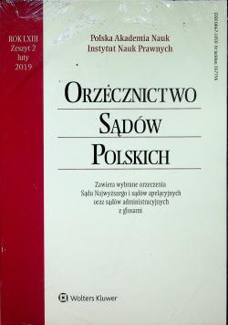 Orzecznictwo Sądów Polskich Rok LXIII Zeszyt 2 Nowa