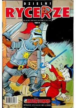 Kaczor Donald wydanie specjalne Dzielni rycerze Nr 6