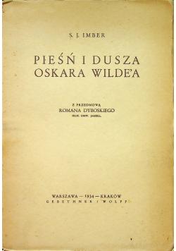 Pieśń i dusza Oskara Wilde a 1934 r