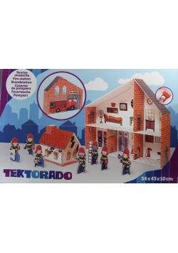 Remiza strażacka z tektury Tektorado