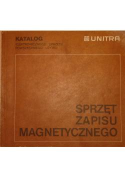 Sprzęt zapisu magnetycznego