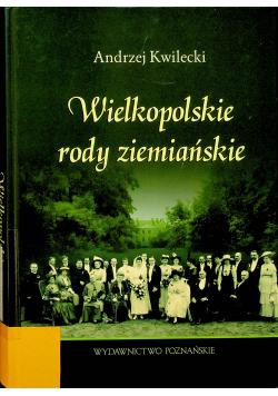 Wielkopolskie rody ziemiańskie