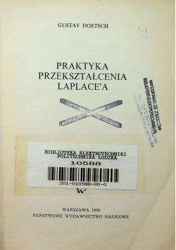 Praktyka przekształcenia Laplacea