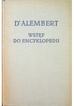 Wstęp do encyklopedii