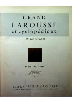 Grand Larousse Encyclopedique Tome 8