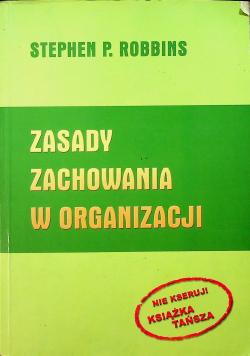 Zasady zachowania w organizacji