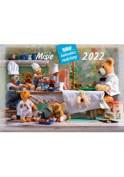Kalendarz 2022 WL06 Misie Kalendarz rodzinny