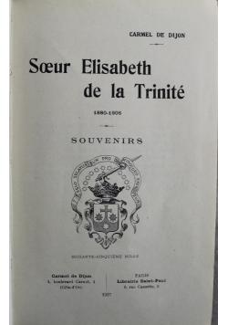 Soeur Elisabeth de la Trinite 1927 r
