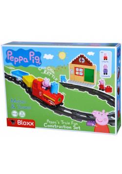 PlayBIG Bloxx Pociąg dziadka Peppy z dźwiękiem