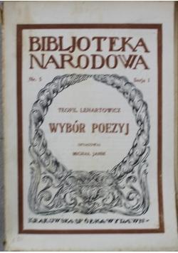 Wybór poezyj 1922 r.