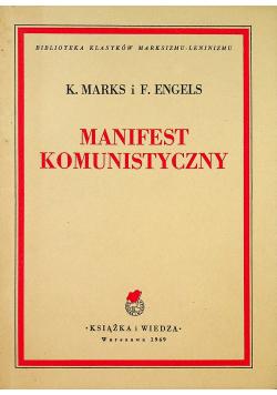 Manifest Komunistyczny 1949r