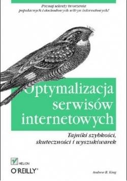 Optymalizacja serwisów internetowych Tajniki szybkości skuteczności i wyszukiwarek