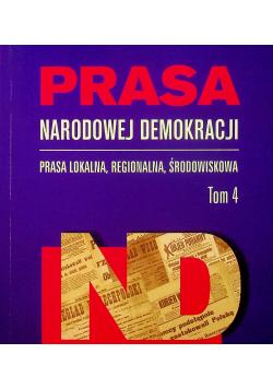 Prasa Narodowej Demokracji Tom 4 Prasa lokalna
