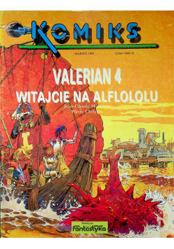 Valerian 4 Witajcie na Alflololu  zeszyt 9