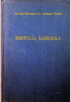 Historia Kościoła tom I