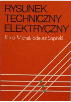 Rysunek techniczny elektryczny