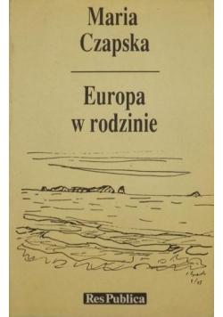 Europa w rodzinie