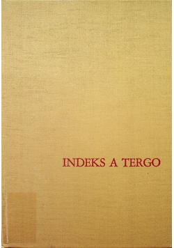 Indeks a tergo